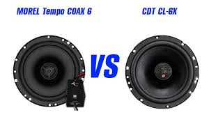 CDT CL-6X vs <b>MOREL Tempo Coax</b> 6. Слушать только в наушниках!