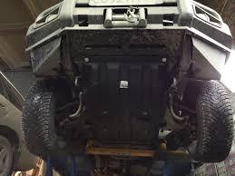 <b>Композитная защита картера</b> двигателя — <b>Mitsubishi</b> Pajero ...