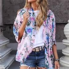 <b>DORVIVON</b> blusas y camisas mujer 2019 kimono <b>women blouses</b> ...