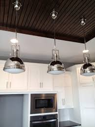 kitchen lighting light over kitchen island using industrial pendant lighting fixtures in polished chrome finish with beaded lighting