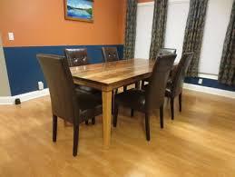 walnut cherry dining: rock steady walnut and cherry dining table