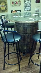 1000 ideas about whiskey barrel table on pinterest barrel table whiskey barrels and barrel sink authentic jim beam whiskey barrel table