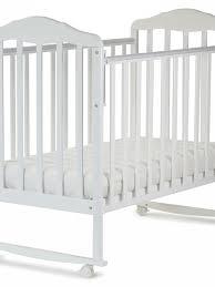 Кроватка <b>СКВ</b>-Компани <b>Березка</b> 120111 <b>белый</b> - купить в Тюмени ...