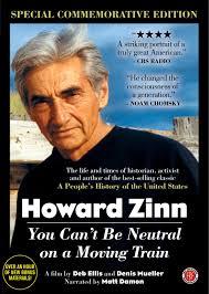 howard zinn you can t be neutral on a moving train 225 howardzinn jpg howard zinn