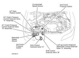 2000 honda accord 2nd clutch pressure switch transmission problem check diagram for location