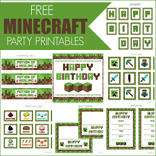 printable minecraft birthday invitation template minecraft party invitations template ctsfashion com printable minecraft birthday party invitations templates
