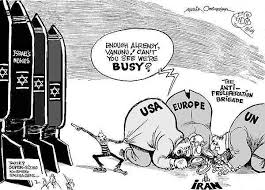 Image result for ISRAELI NUCLEAR weapons CARTOON