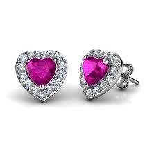 DEPHINI <b>925 Sterling Silver Stud</b> Earrings for Women