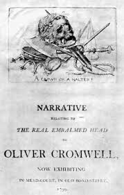 「oliver cromwell grave westminster」の画像検索結果