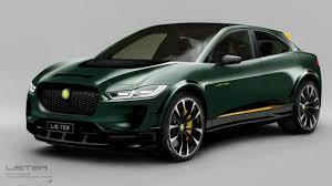 """Электрокроссовер Jaguar I-Pace обзавелся """"горячей"""" версией"""