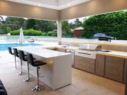 modern kitchen outdoor modular