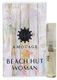 <b>Amouage BEACH HUT WOMAN</b> Eau de Parfum Vial Spray With ...
