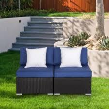 REOSA06DK Kinsunny Outdoor Loveseat <b>2 PCs</b> Patio Furniture Set ...