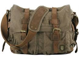 Green Military Style Messenger Bag | Military messenger bag ...