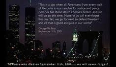 Remembering Sept. 11, 2001 ~ We will never forget. on Pinterest ...