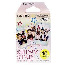 <b>FUJI</b> Instax Mini Instant Film <b>Shiny Star</b> Edition 10 Exposures ...