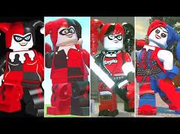 <b>Evolution</b> of Harley Quinn in <b>LEGO</b> Videogames - YouTube