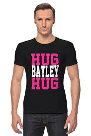 "Футболка Стрэйч ""Hug Bayley Hug (<b>WWE</b>)"" от coolmag"