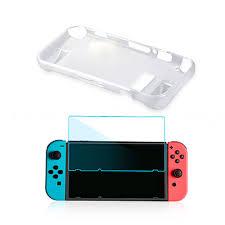 <b>Набор аксессуаров</b> для Nintendo <b>Switch</b>, Crystal Cover <b>Kit</b> 2 в 1 <b>OIVO</b>