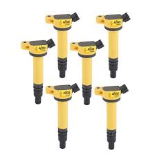 ACCEL 140630-6 <b>Ignition Coils</b>, SuperCoil, Toyota, <b>V6</b>/V8, 6-Pack