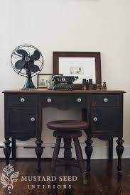 chalk painted furniture by color series black black painted furniture ideas