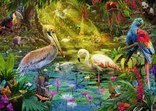 "<b>Пазл Ravensburger</b> ""Рай птиц"" 1000 деталей - купить <b>пазлы</b> ..."