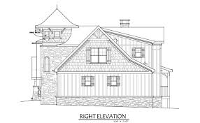 Small Cottage House Plan   Loft   Fairy Tale Cottagesmall cottage house plan   stone and shake