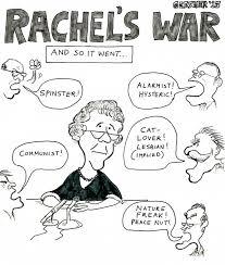rachel    s war  a cartoon essay on rachel carson    s last years �  bill    rachel