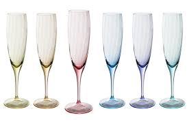 """<b>Набор из 6 фужеров</b> для шампанского 200мл """"Оптик"""" (6цв ..."""