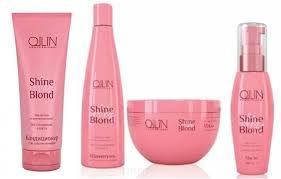 OLLIN Professional Набор Shine <b>Blond</b> для блондинок (<b>шампунь</b> ...
