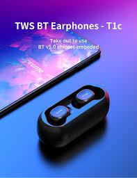 2018 <b>QCY</b> T1 TWS <b>Mini</b> Bluetooth Headphones Earphones Stereo ...