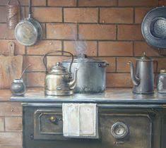 Cocina 1 | Картинки для творчества | Искусство, Живопись и ...
