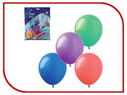 веселая затея набор воздушных шаров чебурашка и крокодил гена 5 шт