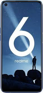 Мобильный <b>телефон Realme 6 4/128GB</b> (синий)