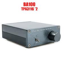 Breeze Audio BA100 HiFi <b>Class D</b> Audio Digital Power Amplifier ...