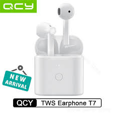 Newest QCY T7 TWS <b>Bluetooth</b> Earphone HiFi Stereo Bass Earbuds ...