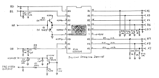 labguy    s world  rca tc  first generation ccd surveillance    rca sid  partial circuit diagram