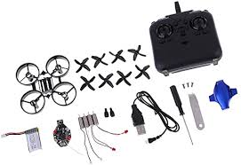 FLAMEER <b>Mini Drone</b> DIY Model <b>Aircraft</b> Assembly Kit <b>UAV Remote</b> ...