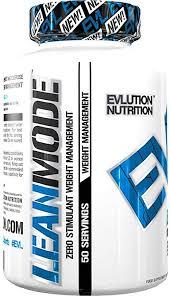 Evlution Nutrition <b>Lean Mode</b> Zero-<b>Stimulant</b> Weight Management ...