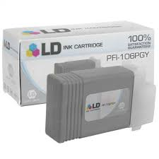 <b>Canon PFI-106PGY Photo Gray</b> Ink Cartridge - 4inkjets