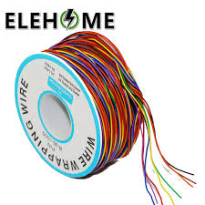 265m 8 Color <b>30AWG Jump Wire</b> Wrapping Tinned Copper Solid ...