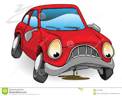 Image result for pics of a car broken down