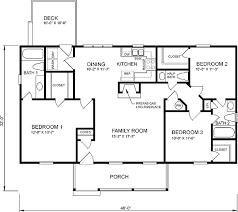 Bedroom Open Floor House Plans Bedroom Ranch House Floor Plans