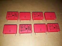 <b>20pcs</b> NOS GENUINE <b>WIMA MKS4</b> 2.2uF 100V 5% HI_END ...