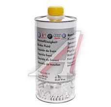 B000750M3 <b>Жидкость тормозная</b> DOT-4 1л VW OE - B000750M3 ...