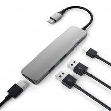 Мультипереходник <b>Satechi Slim</b> Aluminum Type-C Multi-Port ...