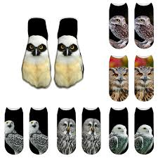 Special Price For <b>cute</b> owl socks brands and get free shipping - a225