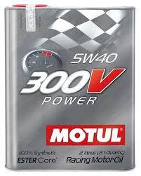 <b>Моторное масло Motul 300V</b> Power 5W40 2 л — купить по ...