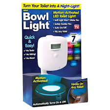 As Seen On TV <b>Motion</b>-<b>Activated</b> LED <b>Toilet Light</b> : Target