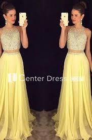 <b>Gorgeous</b> Beadings Sleeveless <b>Prom</b> Dress <b>2018</b> Long <b>Chiffon</b> ...